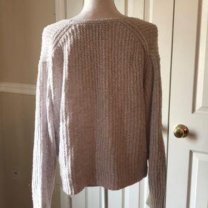 Express Sweaters - Express Light Grey Sweater Sz XS
